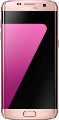 Samsung Galaxy S7 Edge (32GB Pink Gold) at £50.00 on O2 4G Non-Refresh (24 Month(s) contract) with UNLIMITED mins; UNLIMITED texts; 10000MB of 4G data. £45.00 a month.