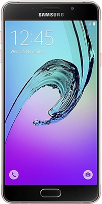 Samsung Galaxy A3 2016 (16GB Pink Gold) on O2 4G Non-Refresh (24 Month(s) contract) with UNLIMITED mins; UNLIMITED texts; 500MB of 4G data. £20.00 a month.