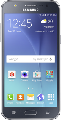Samsung Galaxy J5 (2016) (16GB Black) on 4GEE Essential 300MB (24 Month(s) contract) with 300 mins; UNLIMITED texts; 300MB of 4G Double-Speed data. £18.99 a month.
