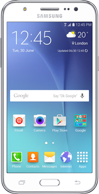 Samsung Galaxy J5 (2016) (16GB White) at £5.00 on Pay Monthly 2GB (24 Month(s) contract) with 600 mins; 5000 texts; 2000MB of 4G data. £16.99 a month.
