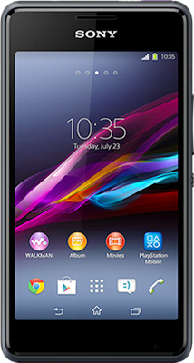 Sony Xperia E1 (Black) at £49.99 on O2 Big Bundle with 1500 mins; 4000 texts; 2000MB of 4G data. Extras: Top-up required: £20.