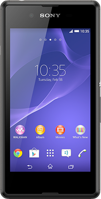 Sony Xperia E3 (Black) at £29.99 on O2 Big Bundle with 1500 mins; 4000 texts; 2000MB of 4G data. Extras: Top-up required: £20.