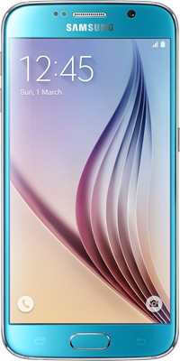 Samsung Galaxy S6 (64GB Blue Topaz) on Red Extra (24 Month(s) contract) with UNLIMITED mins; UNLIMITED texts; 40000MB of 4G data. £58.00 a month.