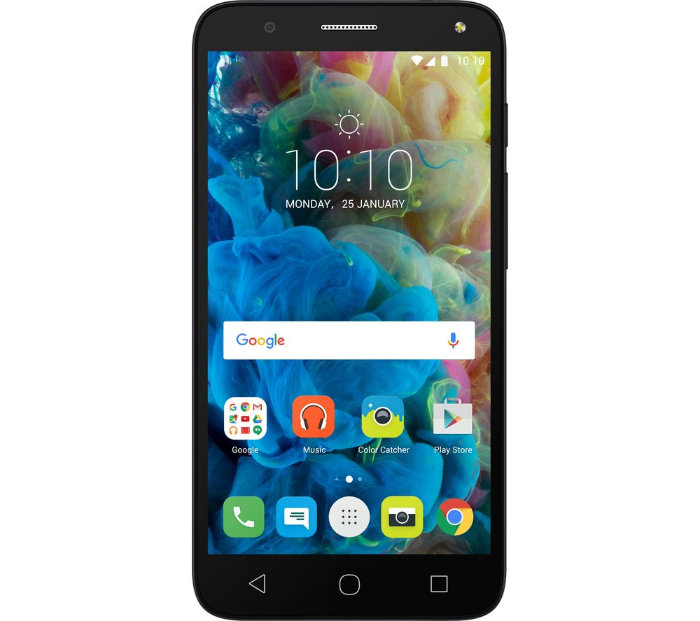 ALCATEL POP 4 - 8 GB, Black, Black