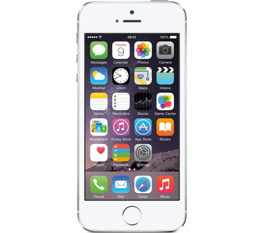 Apple iPhone 5s - 32 GB, Silver, Silver