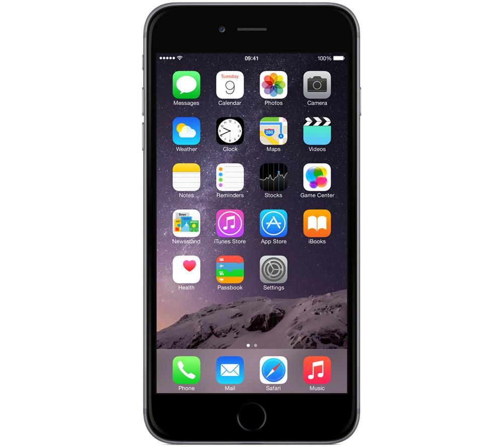 Apple iPhone 6 Plus - 64 GB, Space Grey, Grey