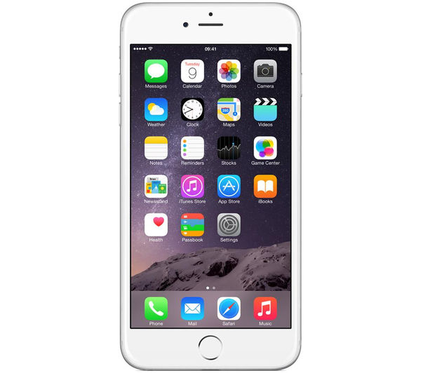 Apple iPhone 6 Plus - 64 GB, Silver, Silver