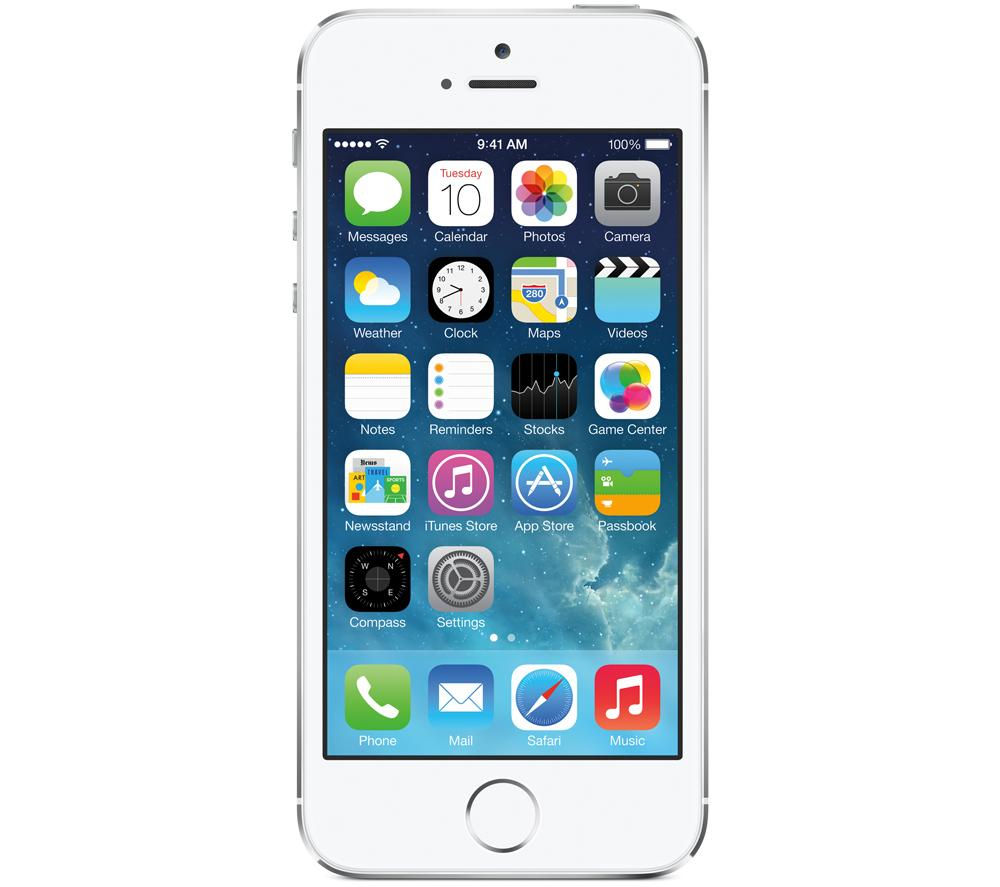 Apple iPhone 5s - 16 GB, Silver, Silver
