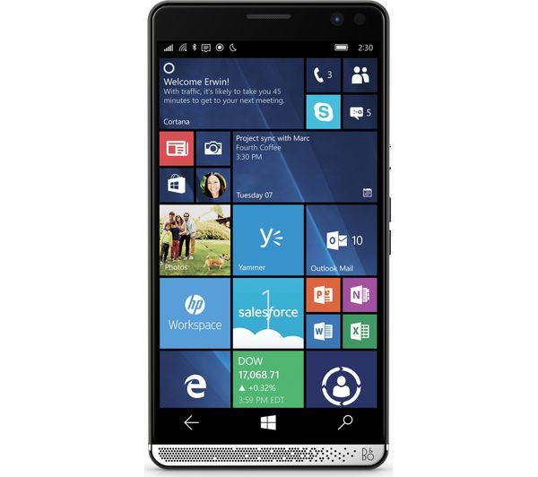 HP Elite x3 - 64 GB, Black