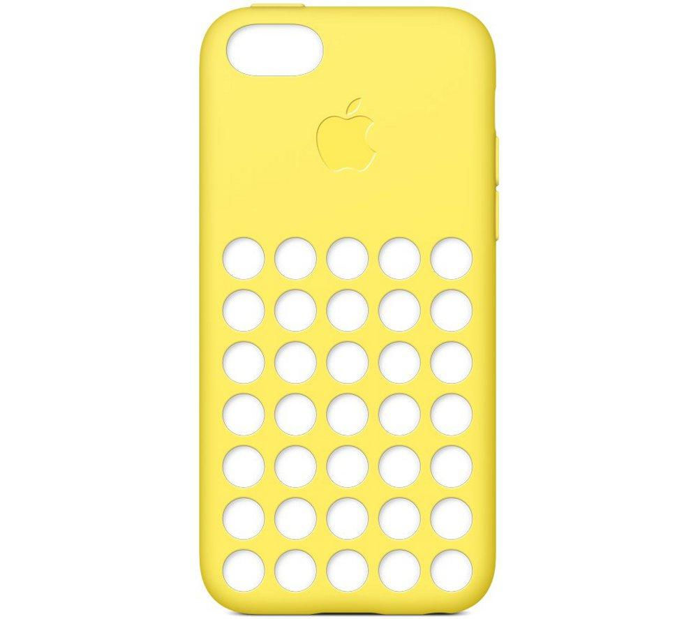 Apple iPhone 5c Case - Yellow, Yellow
