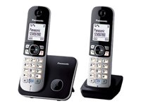 Panasonic KX-TG6812 - cordless phone with caller ID + additional handset
