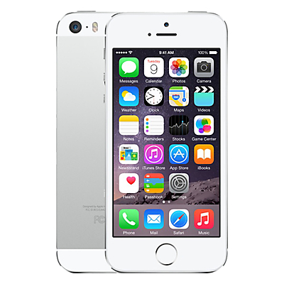 "Apple iPhone 5s, iOS, 4"", 4G LTE, SIM Free, 16GB"