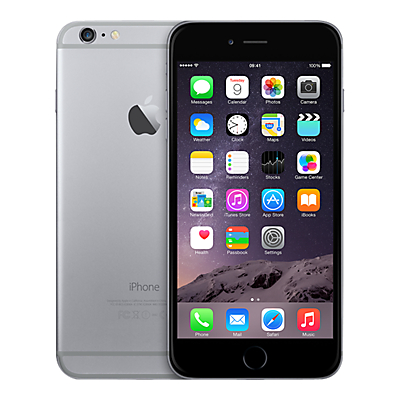 "Apple iPhone 6 Plus, iOS, 5.5"", 4G LTE, SIM Free, 64GB"