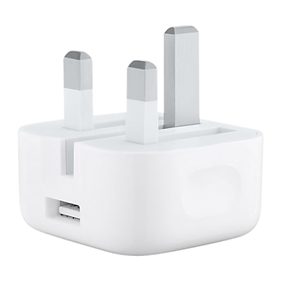 Apple MGRL2B/A 5W USB Power Adapter with Folding Pins for iPhone & iPod
