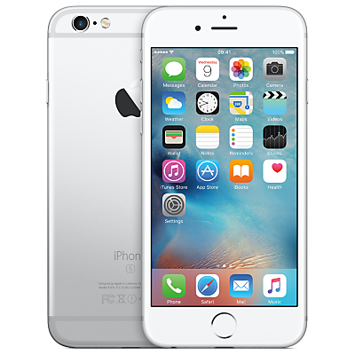 "Apple iPhone 6s, iOS, 4.7"", 4G LTE, SIM Free, 128GB"