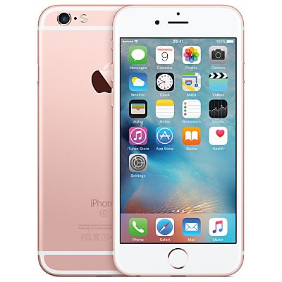 "Apple iPhone 6s, iOS, 4.7"", 4G LTE, SIM Free, 16GB"