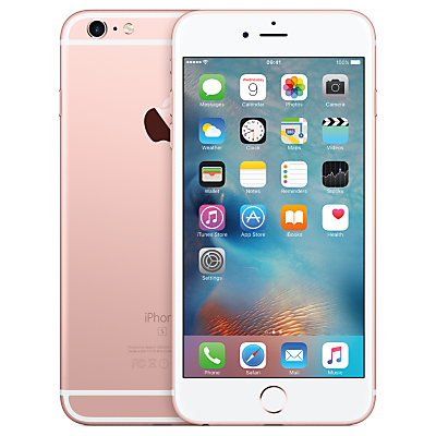 "Apple iPhone 6s Plus, iOS, 5.5"", 4G LTE, SIM Free, 64GB"