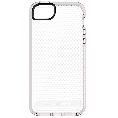 tech21 Evo Mesh Case for Apple iPhone 5/5s/SE, Clear White