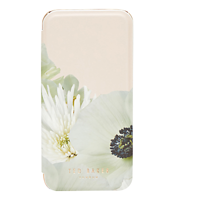 Ted Baker Abeline Pearly Petal iPhone 6 Mirror Case, Ash