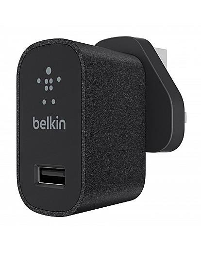 Belkin MixIt Mains Charger UK Black