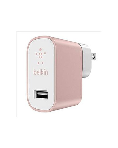 Belkin MixIt Mains Charger UK Rose Gold