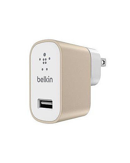 Belkin MixIt Mains Charger UK Gold