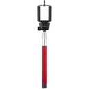 Kitvision Basic Bluetooth Selfie Stick With Phone Holder - Red