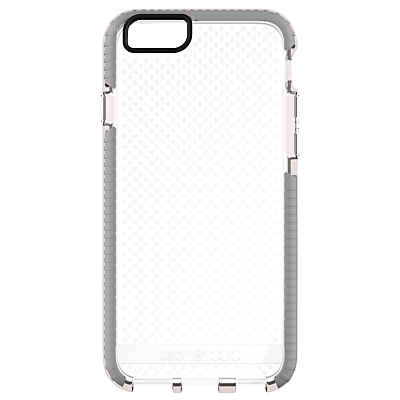 tech21 Evo Elite Mesh Case for Apple iPhone 6 Plus, Clear Grey