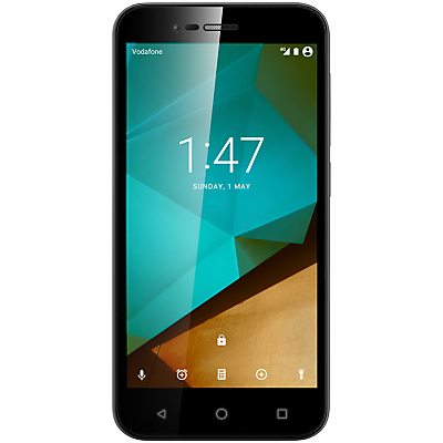 Vodafone Smart Prime 7 Smartphone, Android, 5, Pay As You Go (£10 Top Up Included), 6GB, Black