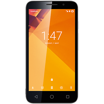Vodafone Smart Turbo 7 Smartphone, Android, 5, Pay As You Go (£10 Top Up Included), 8GB